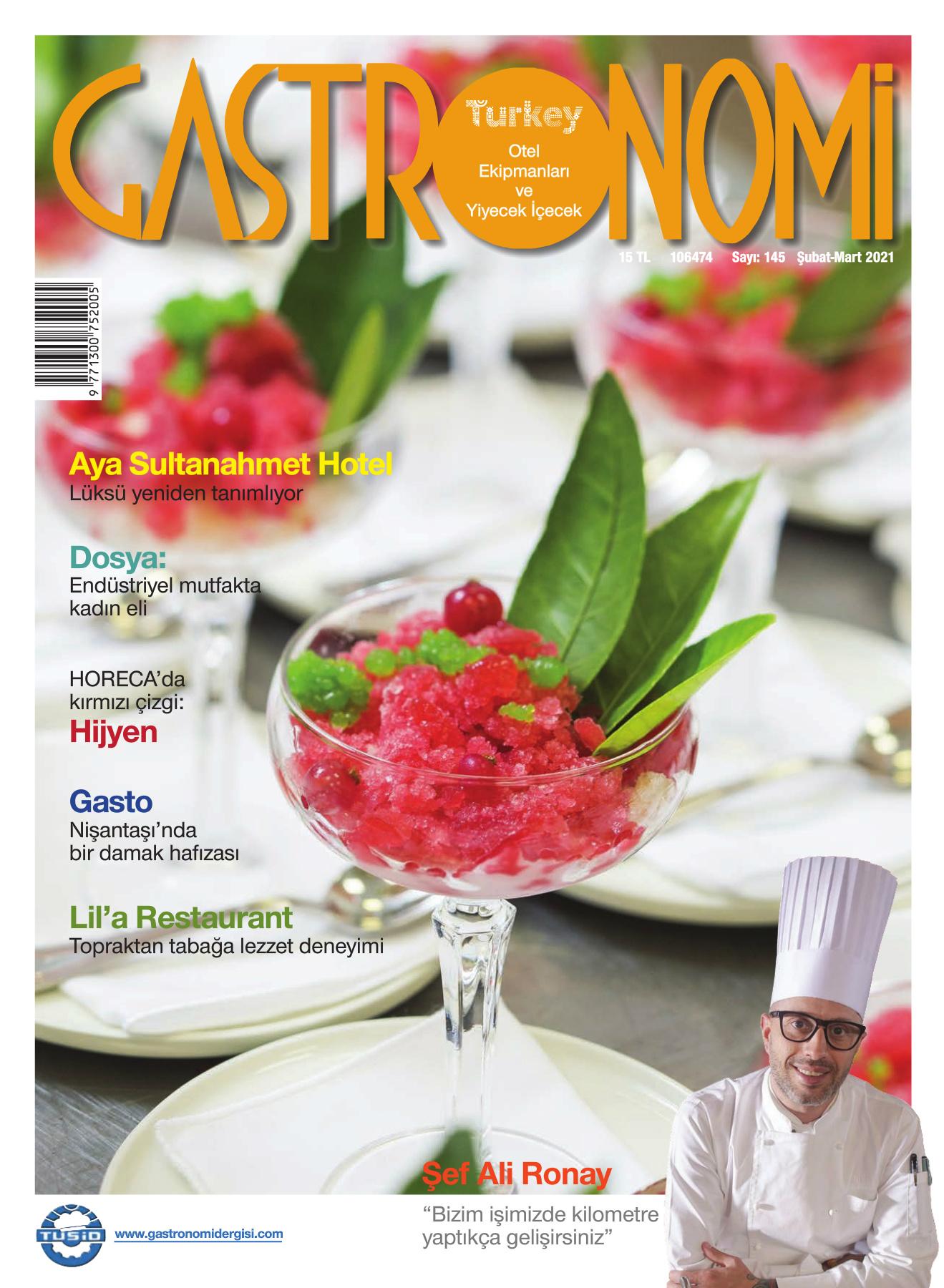 Gastronomi Dergisi 145. Sayı