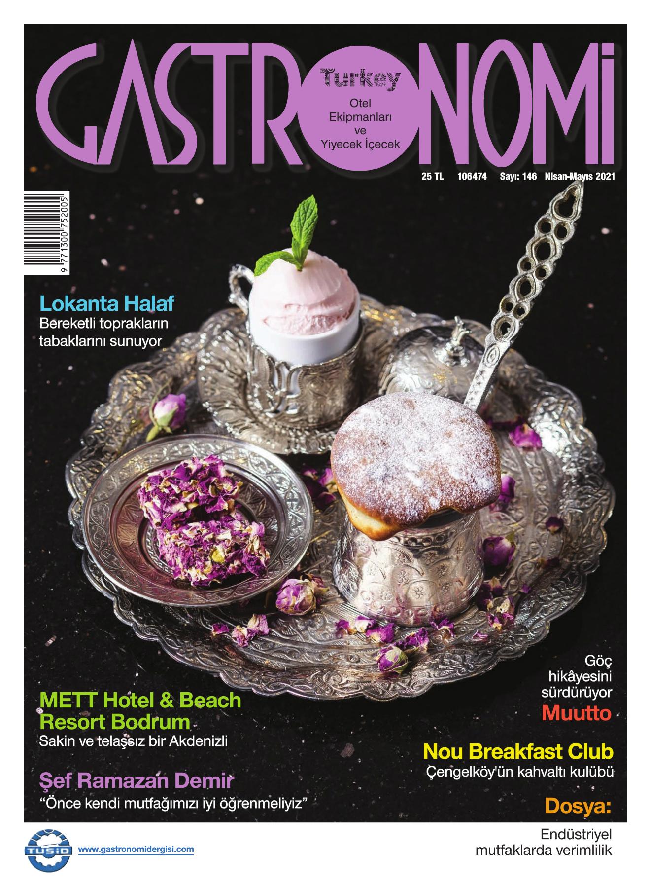 Gastronomi Dergisi 146. Sayı